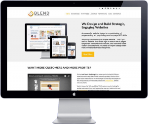 blend local search marketing website design - development bangkok thailand