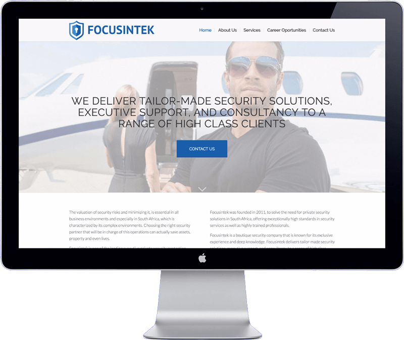 focusintek website design - bangkok thailand design agency