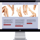 cosmetic surgery clinic website design
