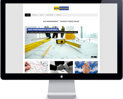 ach management website design