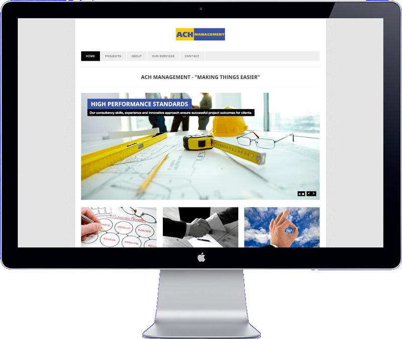 ach management website design