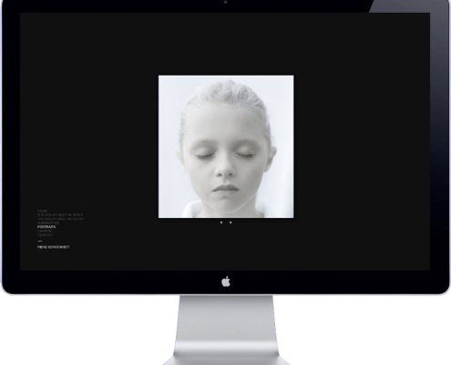 ineke schoonhey - photography website design