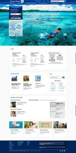 Bank of Hawaii homepage design