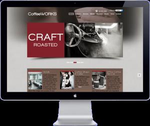 coffeeworks thailand - website design
