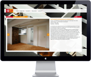 VDVDP Architecten Amsterdam - website design