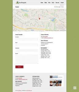 krua bangkok website contact page