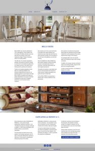 singapore based mythos global company website development furniture page
