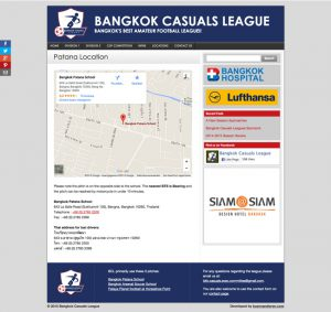 location page - bkk casual website