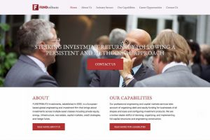 website development for fundtribute