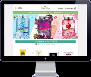 labelyoung thailand - website development