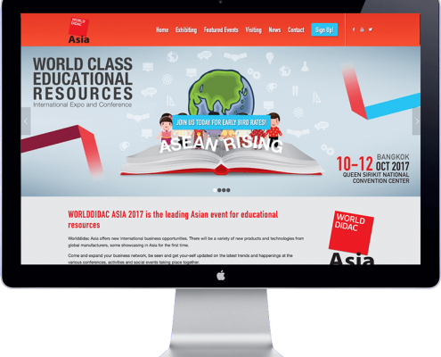 world didac asia 2017 - thailand bangkok - website development