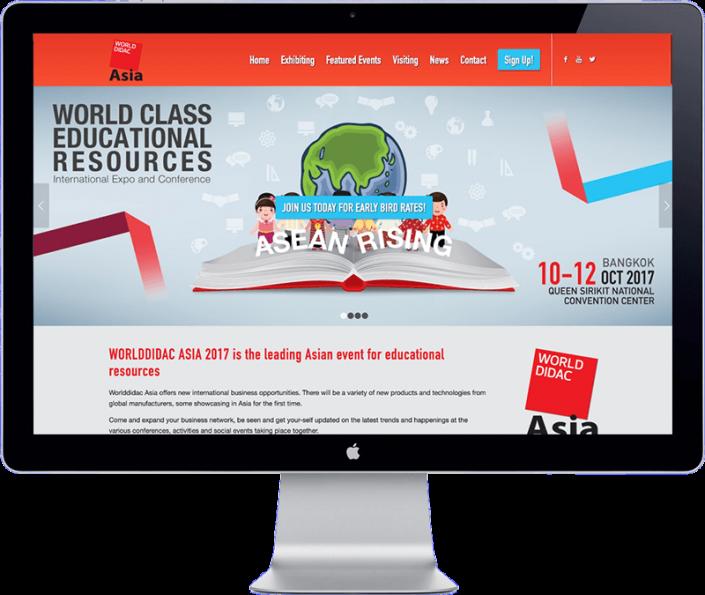 world didac asia 2017 - thailand bangkok - website development