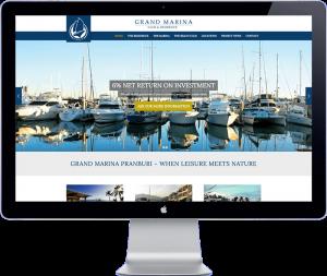 Grand Marin Pranburi - Thailand website designer