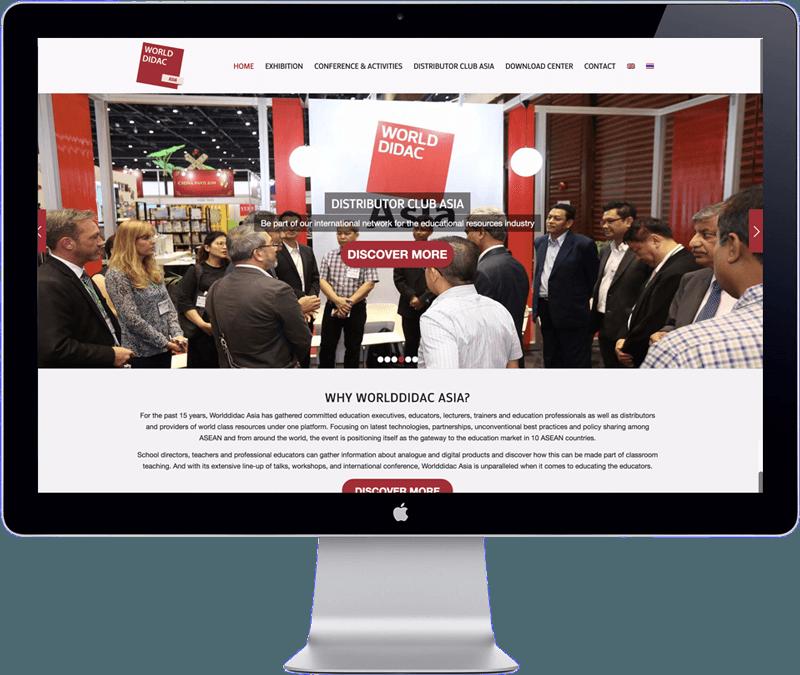 website design world didac asia 2018