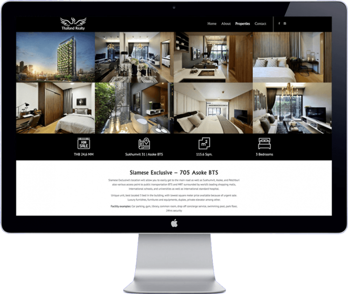 thai real estate website