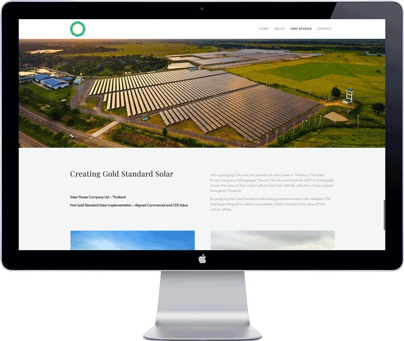 minimalistic website design