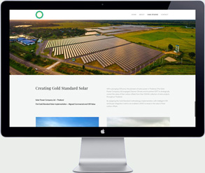 cleaner climate custom website design