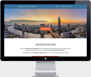 Website development gatekeeper ventures thailand