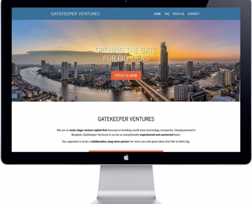 gatekeeper ventures webdesign