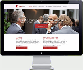 fundtribute website design