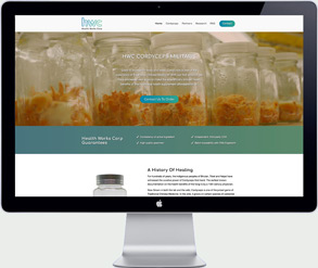 health supplements website development