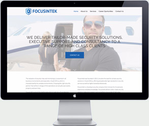 focusintek security - thailand website design agency
