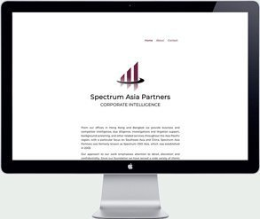 spectrum asia partners webdesign